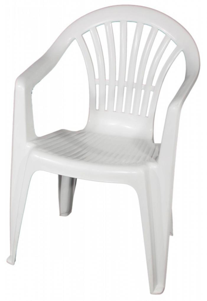fauteuil jardin plastique blanc veranda. Black Bedroom Furniture Sets. Home Design Ideas