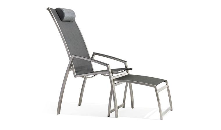 Chaise de jardin multiposition - veranda-styledevie.fr