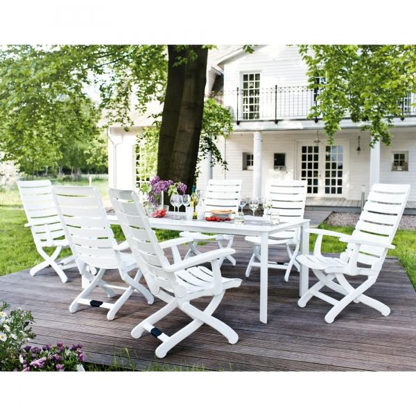 Chaise de jardin kettler truffaut - veranda-styledevie.fr