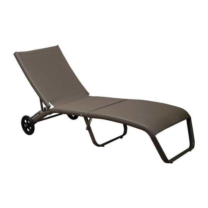 Chaise Longue De Jardin Cdiscount