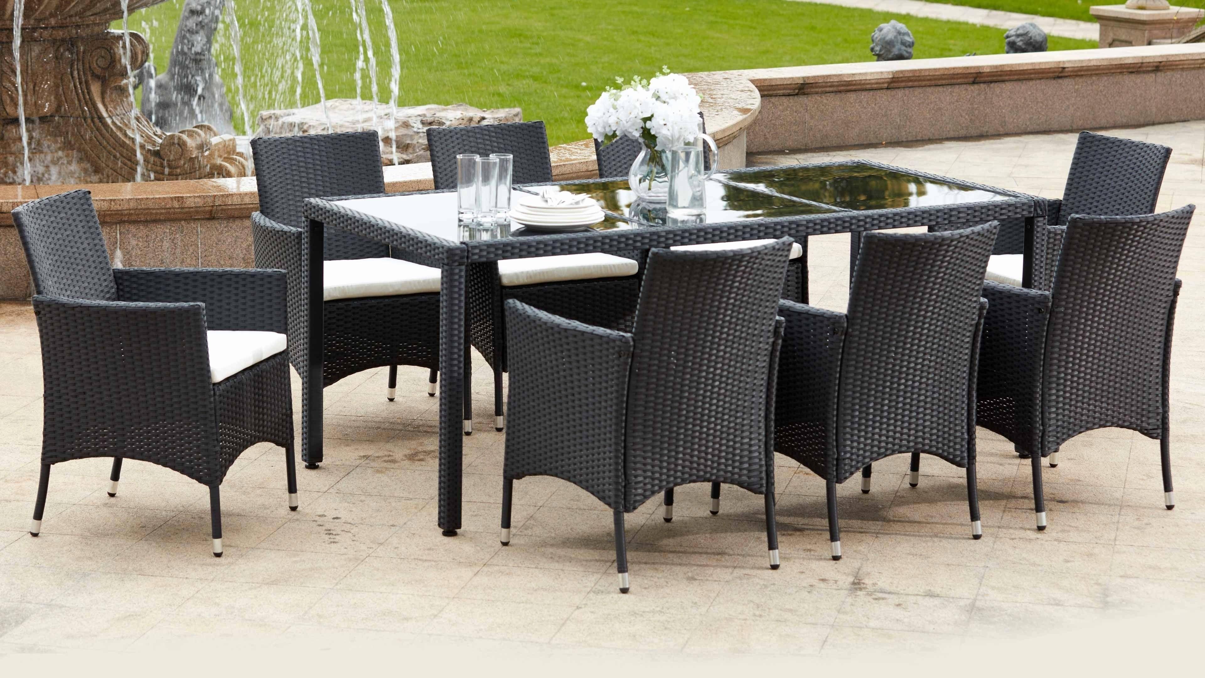 Table chaise jardin babou - veranda-styledevie.fr