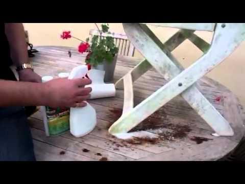Nettoyer chaise jardin plastique - veranda-styledevie.fr