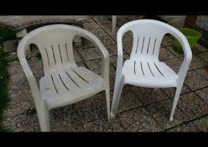 restaurer chaise en plastique