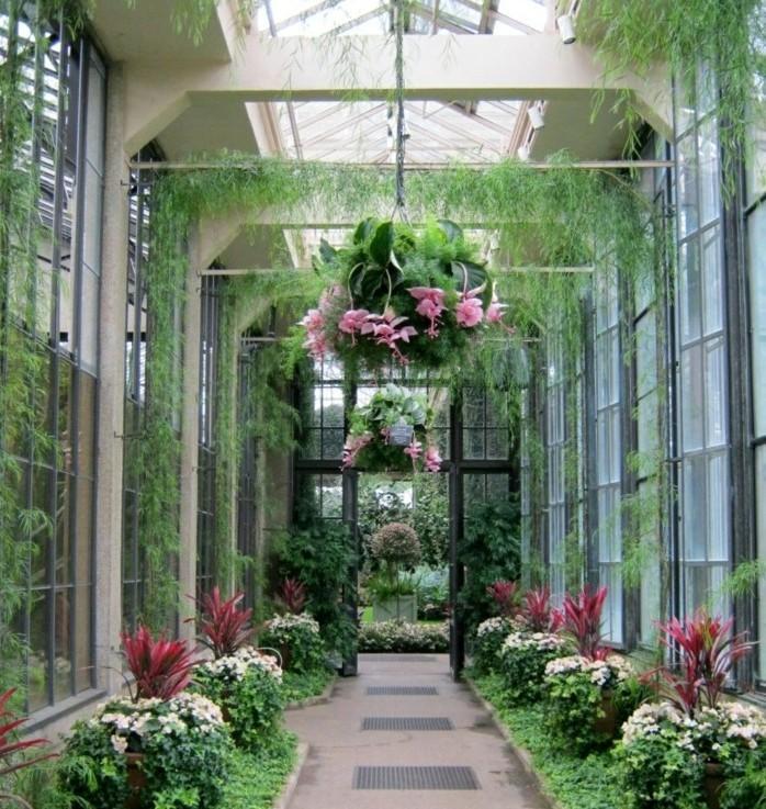 Plantes jardin d\'hiver veranda - veranda-styledevie.fr