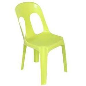 Chaise de jardin verte anis