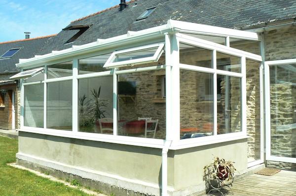 Modele veranda avec muret - veranda-styledevie.fr
