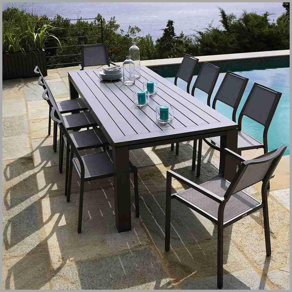 Table chaise jardin plastique pas cher - veranda-styledevie.fr