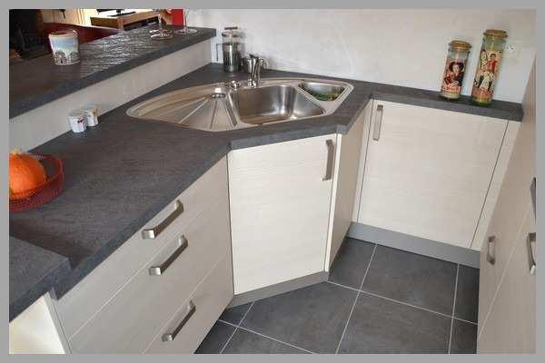 Meuble d 39 angle de cuisine avec evier veranda - Evier de cuisine d angle ...