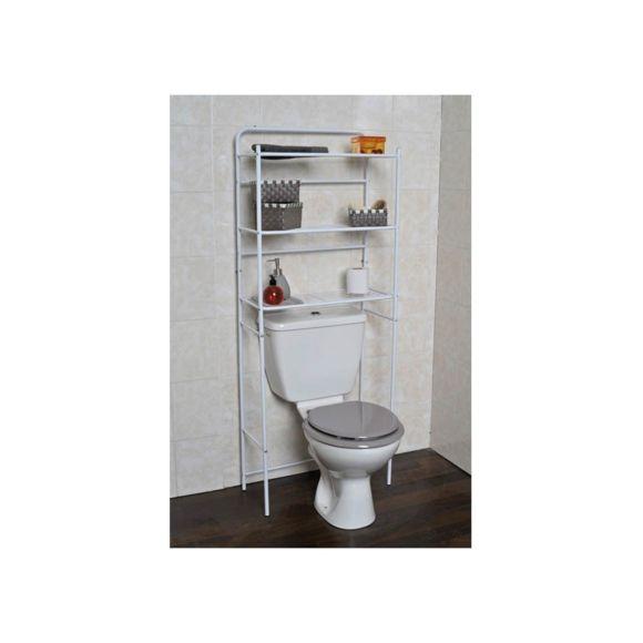 Meuble haut pour rangement wc - veranda-styledevie.fr