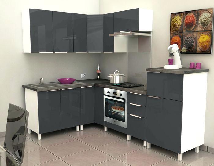Meuble d 39 angle 60 x 60 veranda - Meuble cuisine ikea bas ...