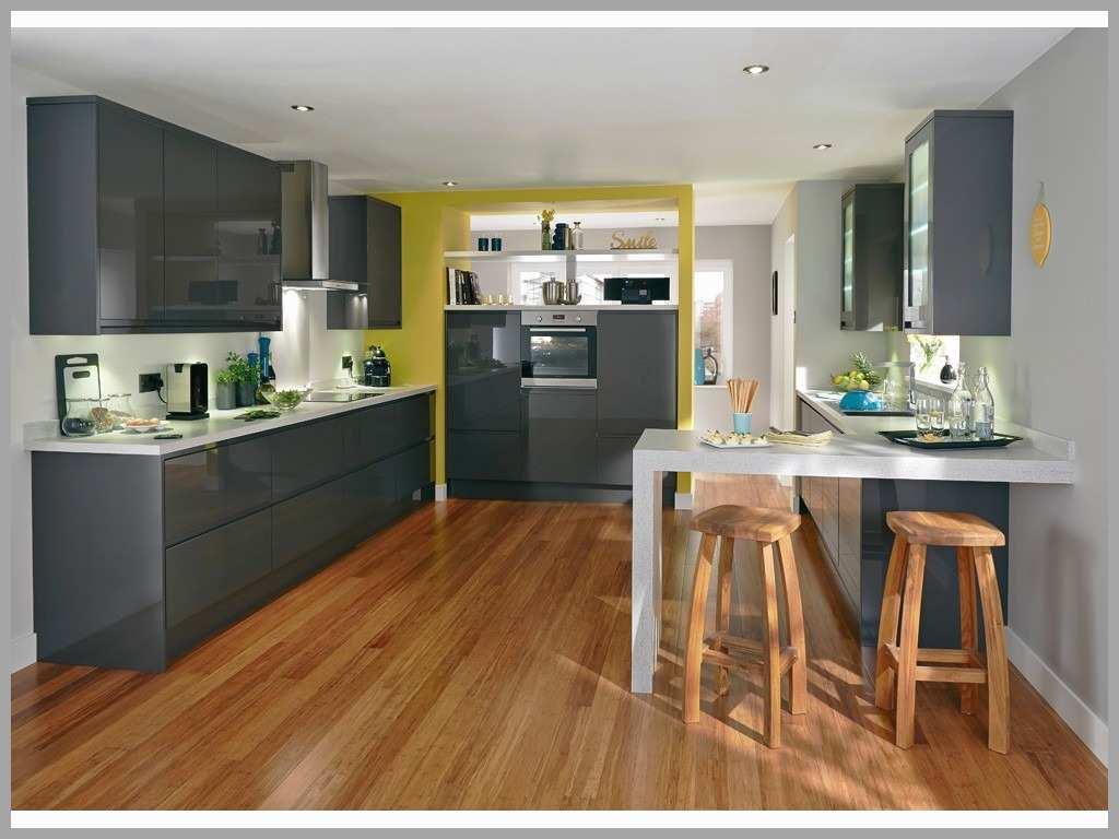 Meuble haut cuisine gris anthracite - veranda-styledevie.fr