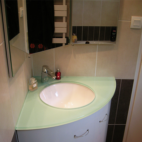 Meuble Dangle Salle De Bain Lavabo Veranda Styledeviefr