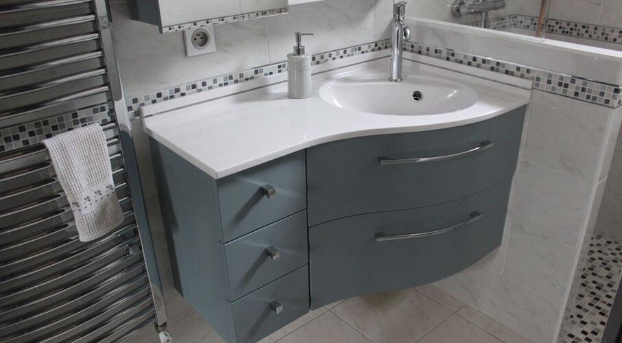 Meuble Et Vasque D Angle Pour Salle De Bain Veranda
