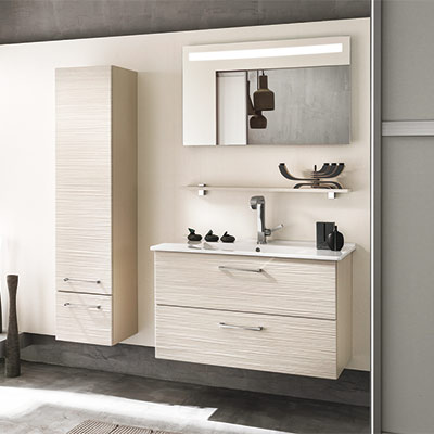 meuble haut de salle de bain taupe veranda. Black Bedroom Furniture Sets. Home Design Ideas