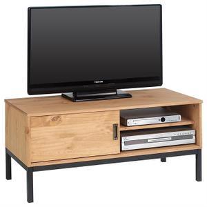 Meuble D Angle Tv Style Industriel Veranda Styledevie Fr