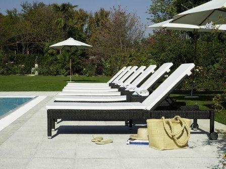Chaise longue de jardin design pas cher veranda - Chaise longue de jardin pas cher ...
