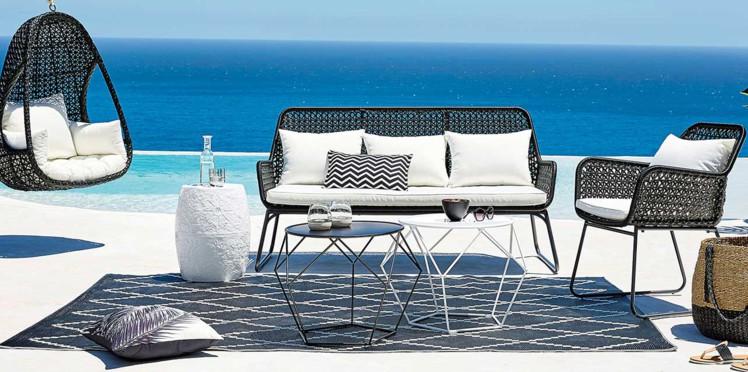 Coussin chaise jardin maison du monde   veranda styledevie.fr