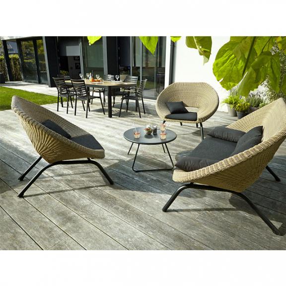 Salon de jardin en rotin - veranda-styledevie.fr