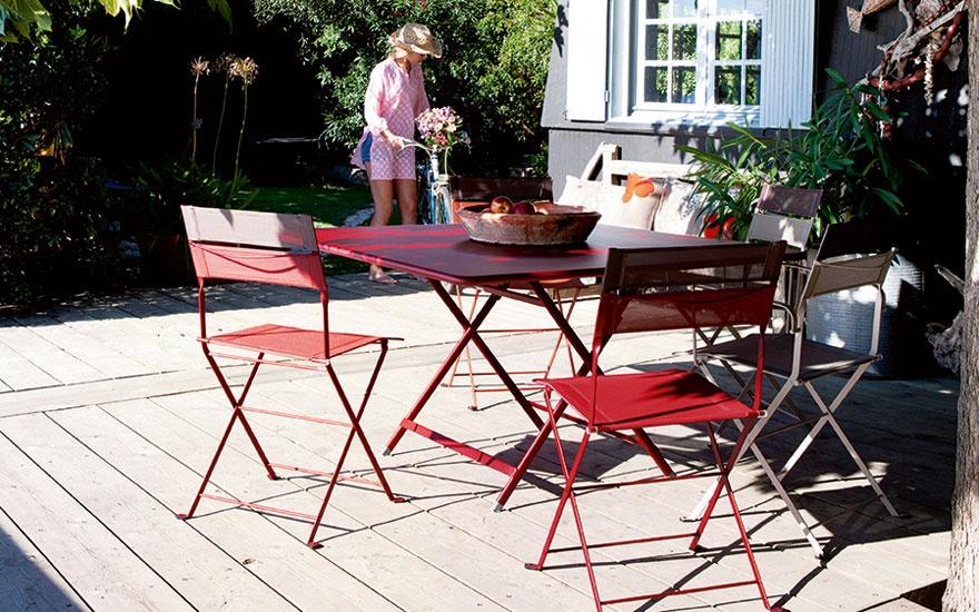 Chaise de jardin bistro fermob - veranda-styledevie.fr