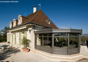 terrasse en beton poreux veranda. Black Bedroom Furniture Sets. Home Design Ideas