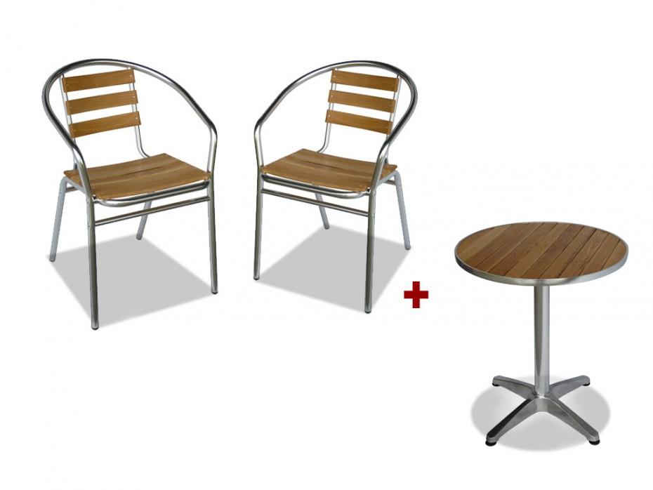 chaise de jardin en bois en solde veranda. Black Bedroom Furniture Sets. Home Design Ideas