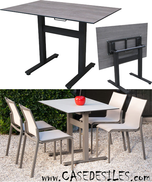 petite table jardin pas cher veranda. Black Bedroom Furniture Sets. Home Design Ideas