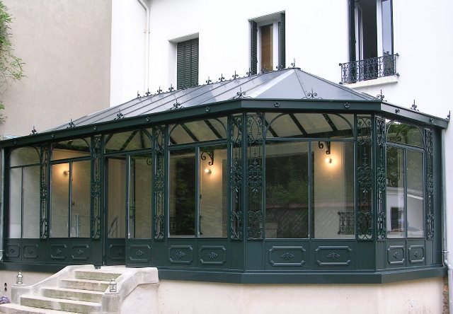 Veranda toiture arrondie - veranda-styledevie.fr