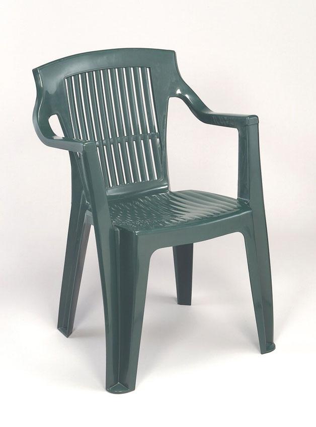 Chaise de jardin plastique blanc pas cher - veranda-styledevie.fr