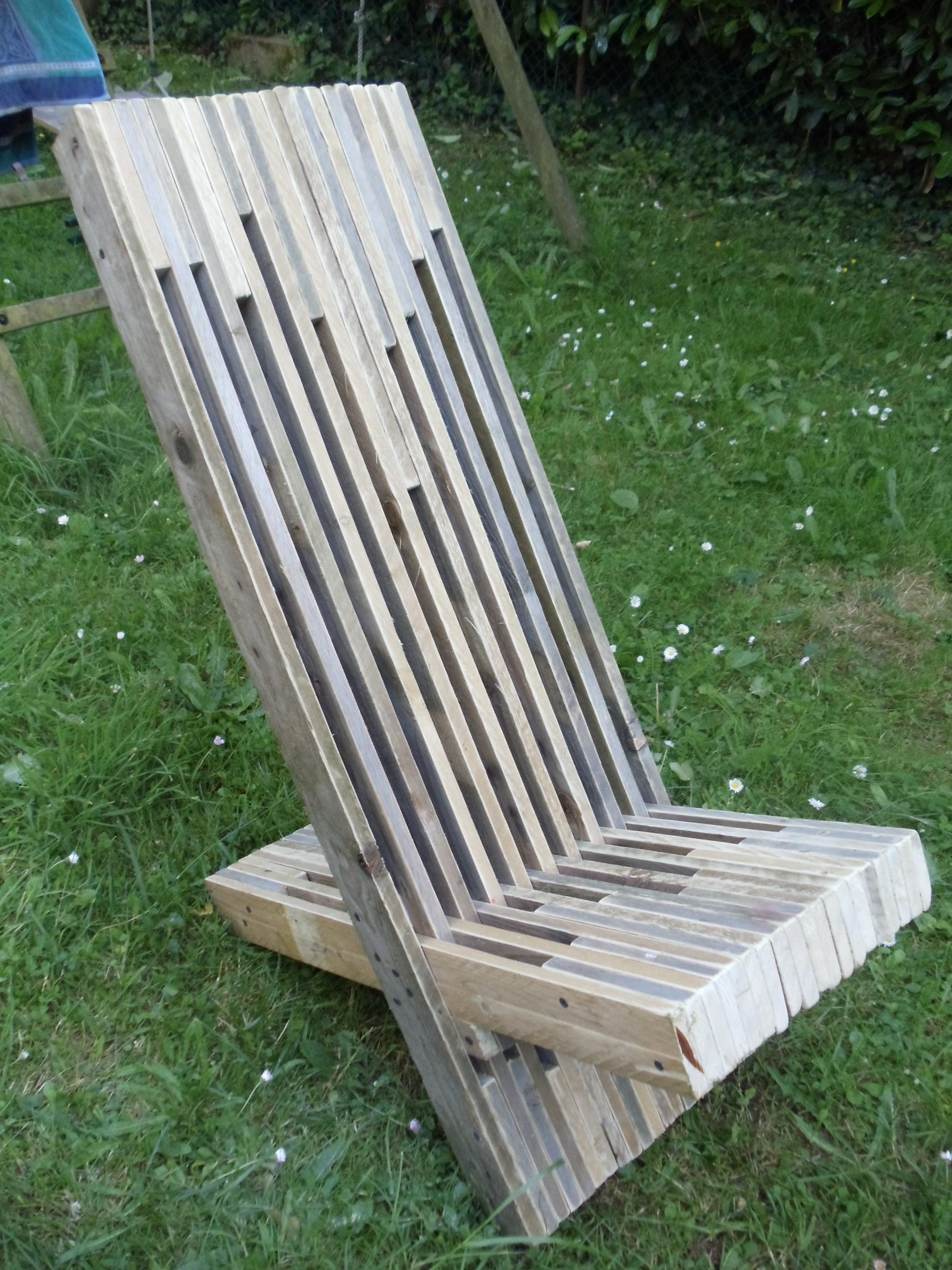 Comment fabriquer une chaise de jardin - veranda-styledevie.fr