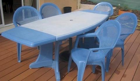 Comment renover des chaises de jardin en plastique - veranda ...