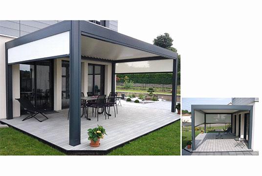 pergola bioclimatique leroy merlin prix veranda. Black Bedroom Furniture Sets. Home Design Ideas