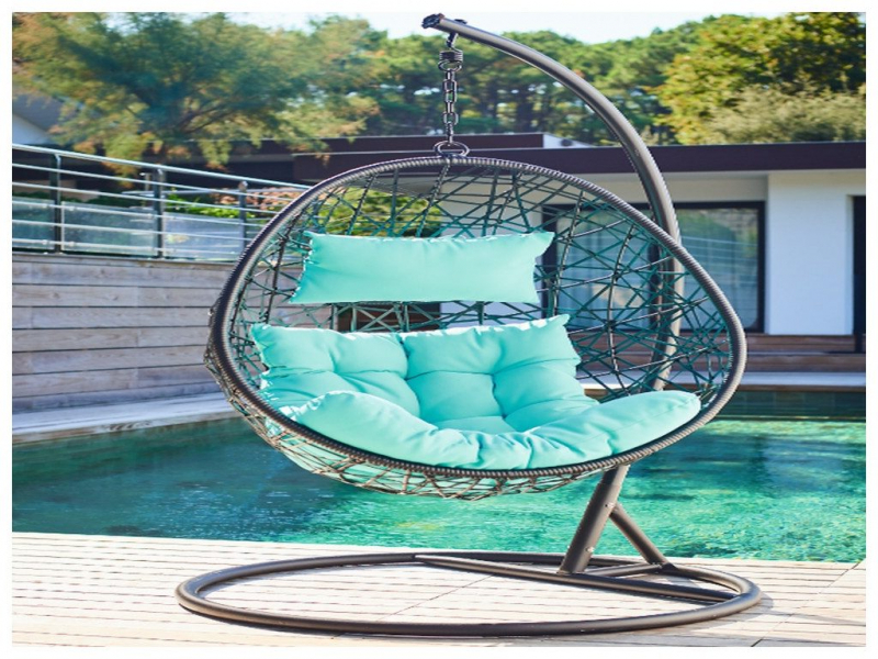 Chaise suspendue pour jardin veranda - Chaise suspendue jardin ...