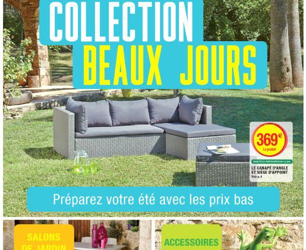 Table Et Chaise De Jardin Super U Veranda Styledevie Fr