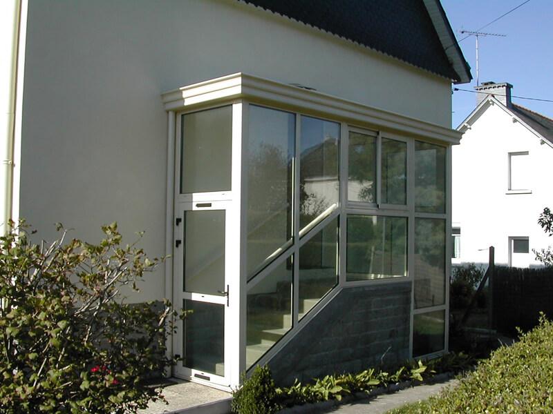 Entrée veranda sas - veranda-styledevie.fr