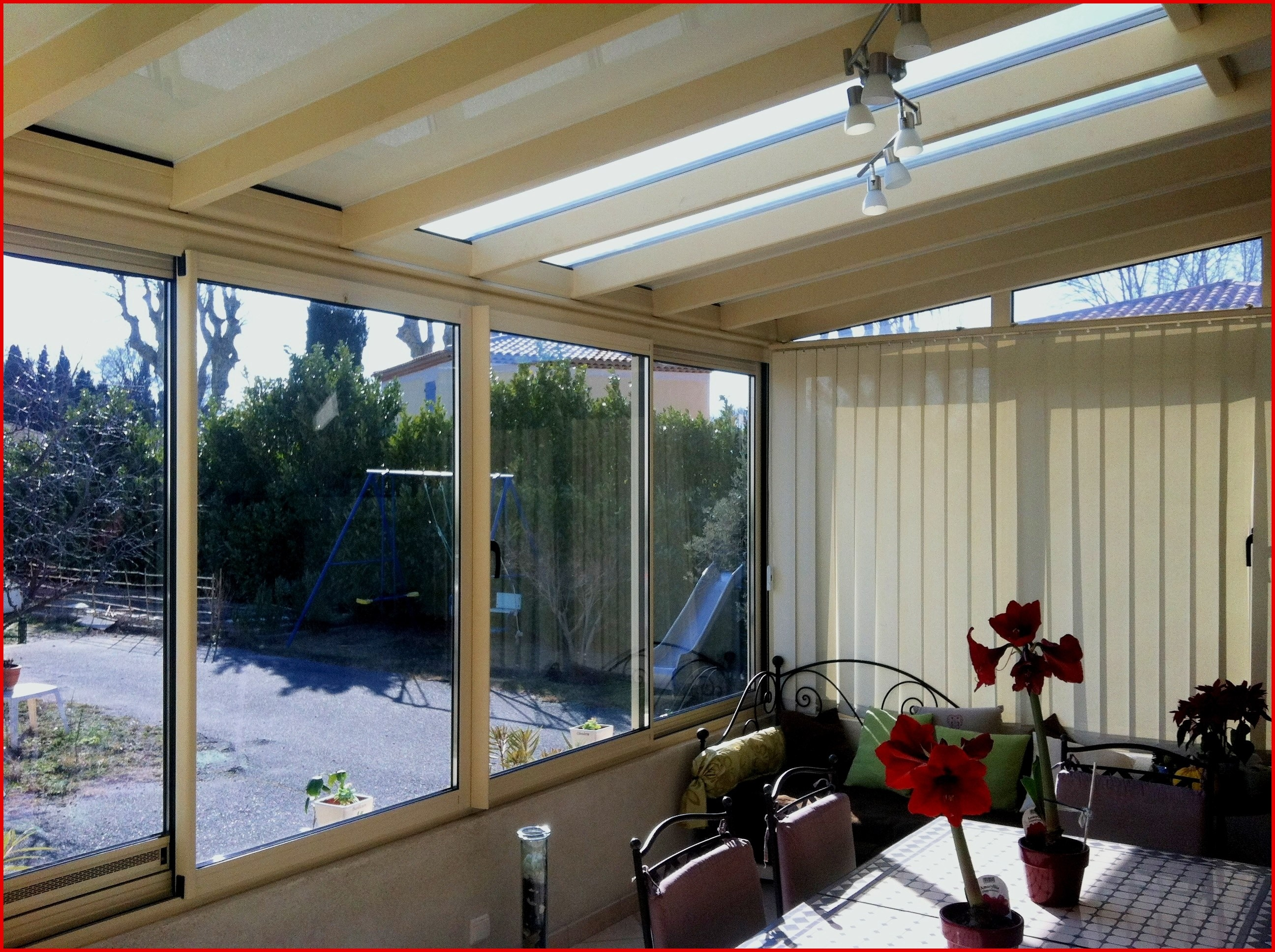 Veranda intérieur style - veranda-styledevie.fr