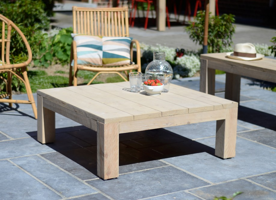 Emejing Salon De Jardin Bois Table Basse Photos - House Design ...