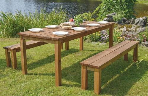 Fauteuil de jardin en bois leclerc - veranda-styledevie.fr