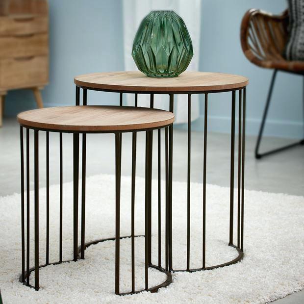 Table et chaise de jardin chez casa - veranda-styledevie.fr