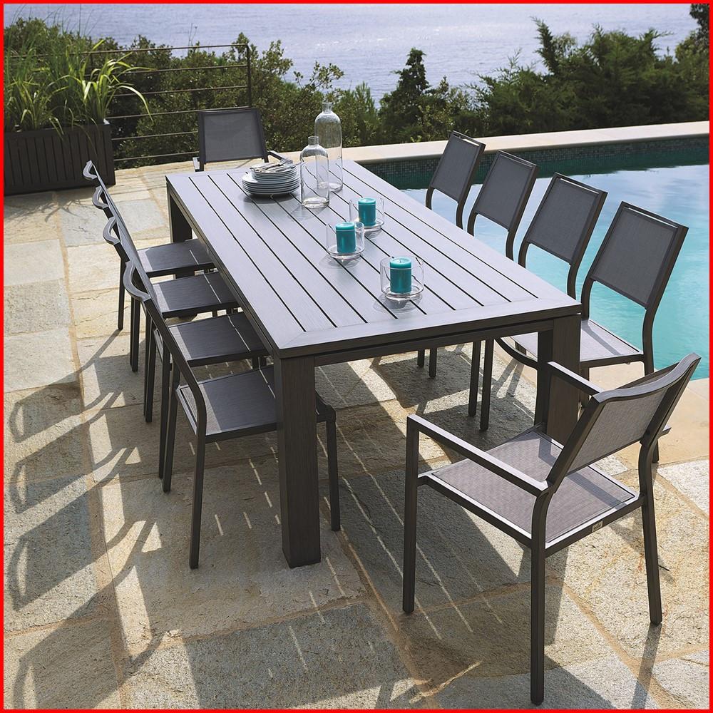 Table chaise jardin auchan - veranda-styledevie.fr