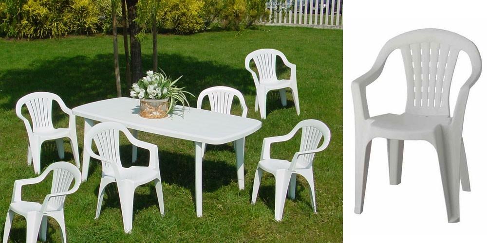 Chaise de jardin plastique leclerc - veranda-styledevie.fr