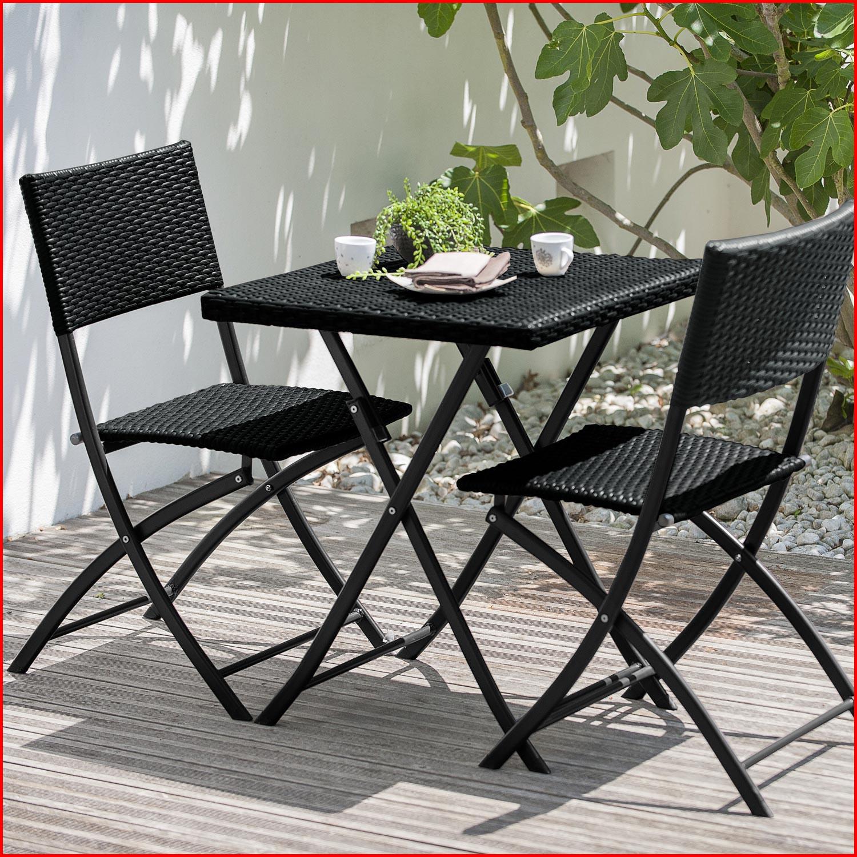 Table et chaise de jardin en resine noir - veranda ...