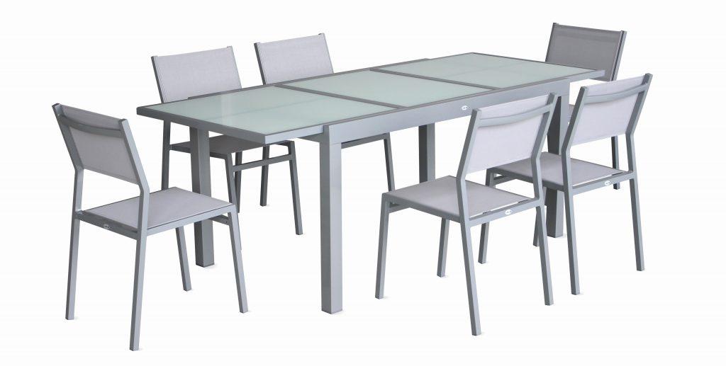Table chaise de jardin gifi - veranda-styledevie.fr