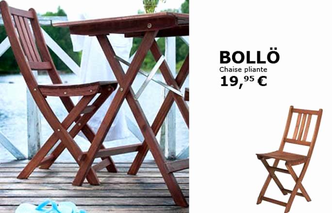 chaise pliante bois ikea veranda. Black Bedroom Furniture Sets. Home Design Ideas