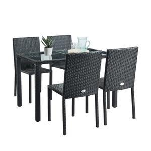 Table Chaise Jardin Pas Cher Veranda Styledeviefr