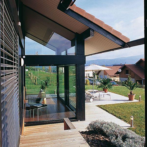 Veranda dans maison ancienne - veranda-styledevie.fr