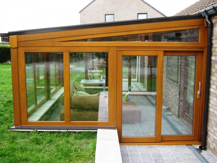 veranda kit en bois veranda. Black Bedroom Furniture Sets. Home Design Ideas