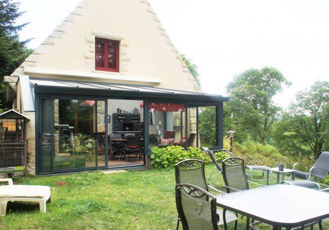 Jardin d\'hiver dans veranda - veranda-styledevie.fr