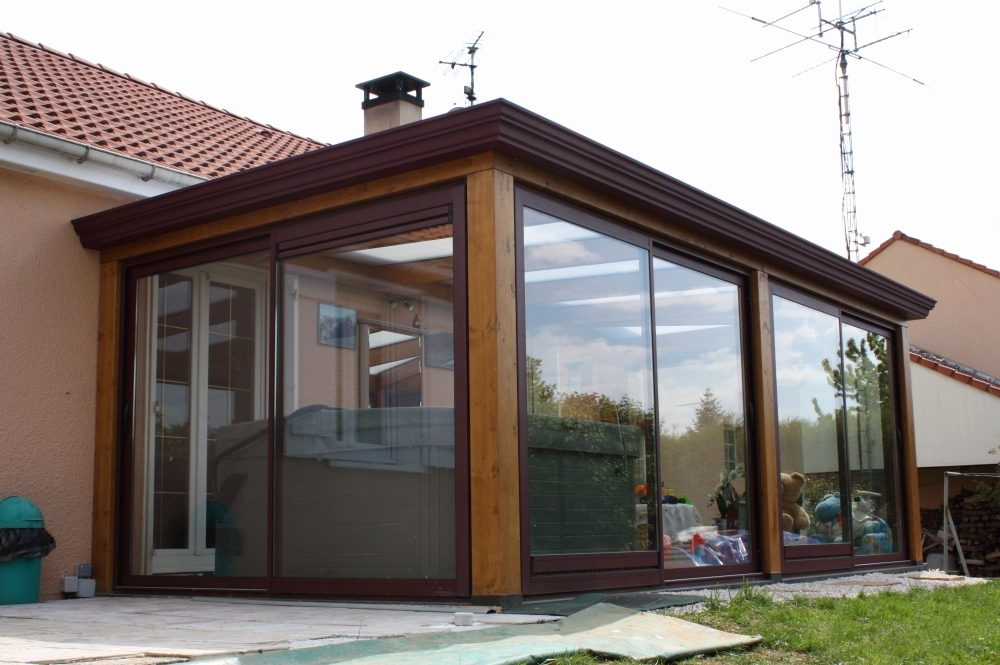 modele de veranda pas cher veranda. Black Bedroom Furniture Sets. Home Design Ideas