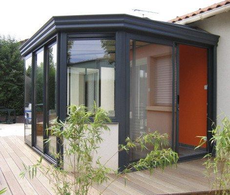 Veranda sas d'entrée en kit - veranda-styledevie.fr