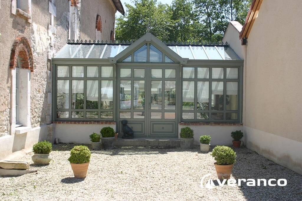 Amenagement veranda en jardin d\'hiver - veranda-styledevie.fr
